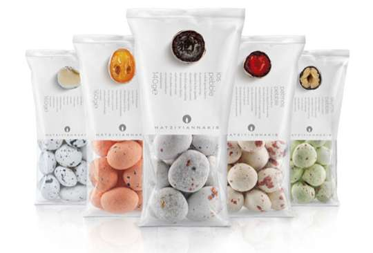 Hatziyiannakis Dragee Pebbles Packaging
