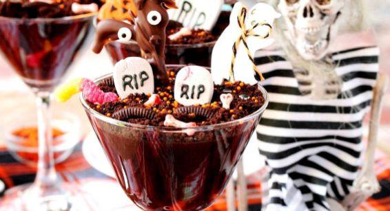 Haunted Graveyard Puddings