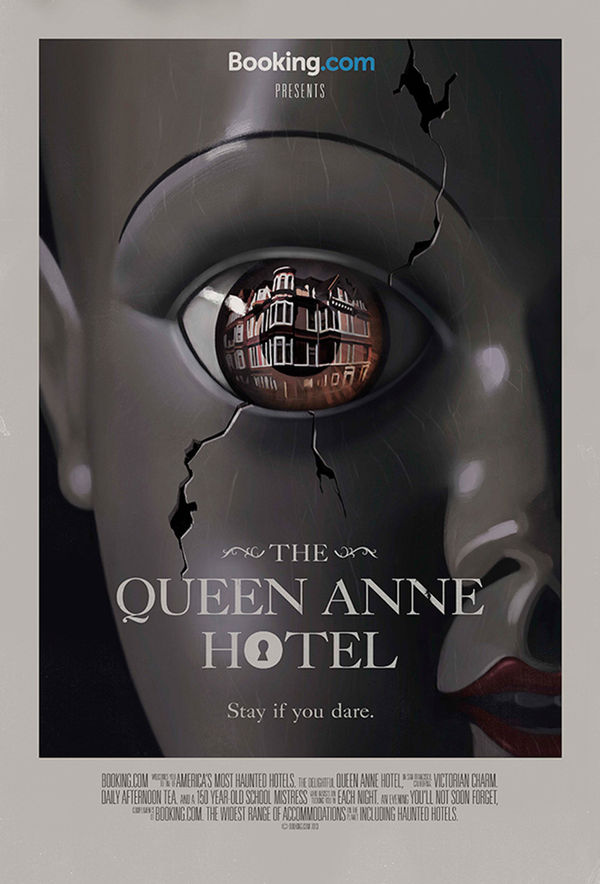 Cinematic Haunted Hotel Posters