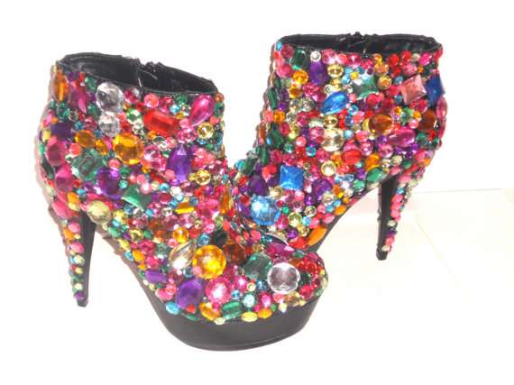Fierce Kaleidoscopic Pumps