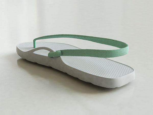 Music-Themed Flip Flops