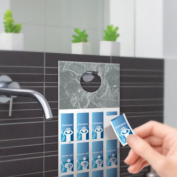 Stamp-Like Travel Toiletries