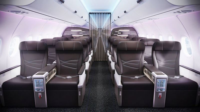 Hawaiian Airline Cabins