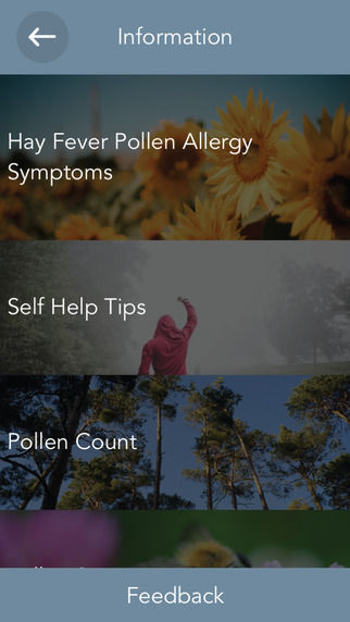 Allergy-Relieving Apps