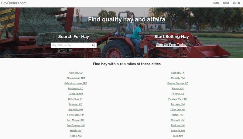 Online Hay Retailers