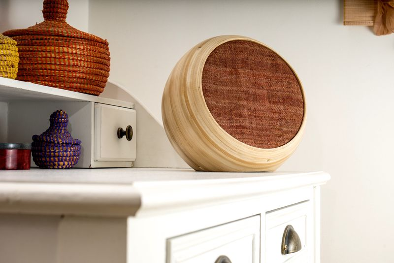 Stylish Bamboo Speakers