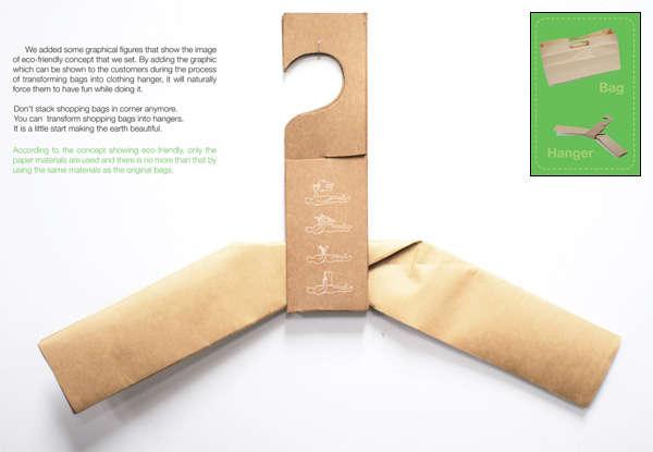 Eco Origami Coat Hangers
