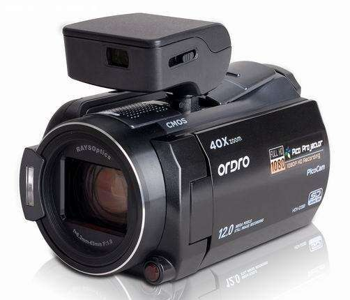 Shoot-and-Show Video Cameras