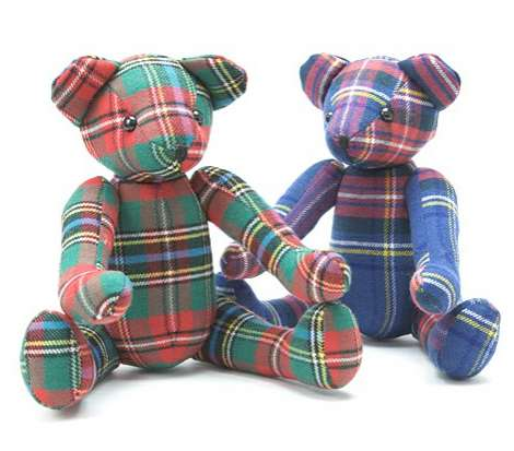 Posh Plaid Plushies