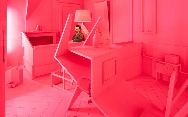 Surreal Setting Apartment Art