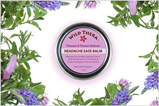 Herbal Headache Relief Balms