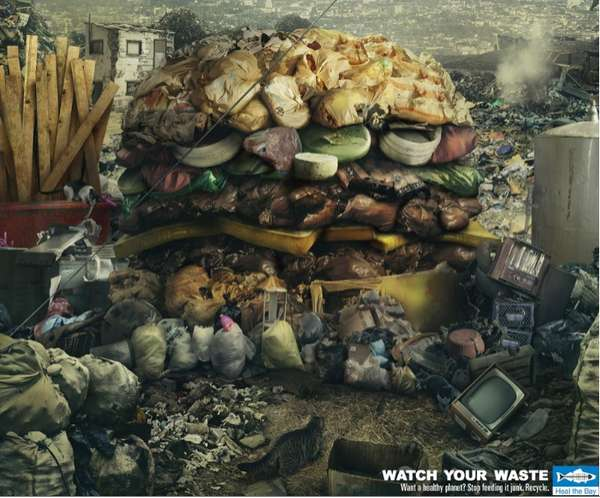 Trashy Burger Ads