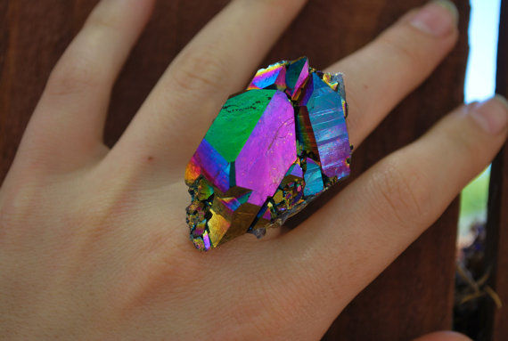 Holographic Healing Crystal Accessories