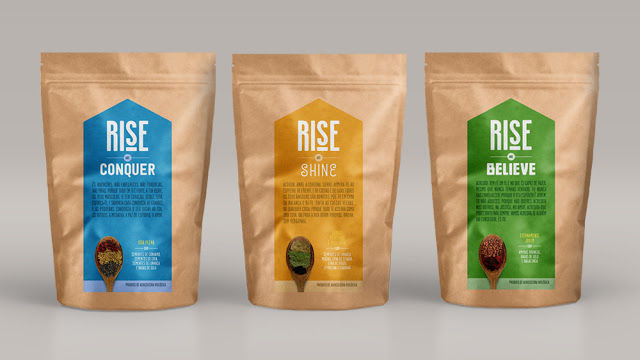 Uplifting Superfood Packaging