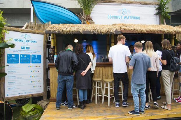 Mocktail Bar Pop-Ups