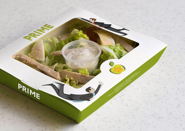 Dynamic Food Packaging