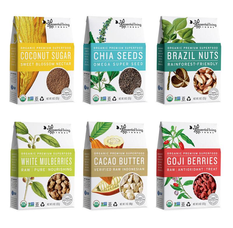 Organic Superfood Branding
