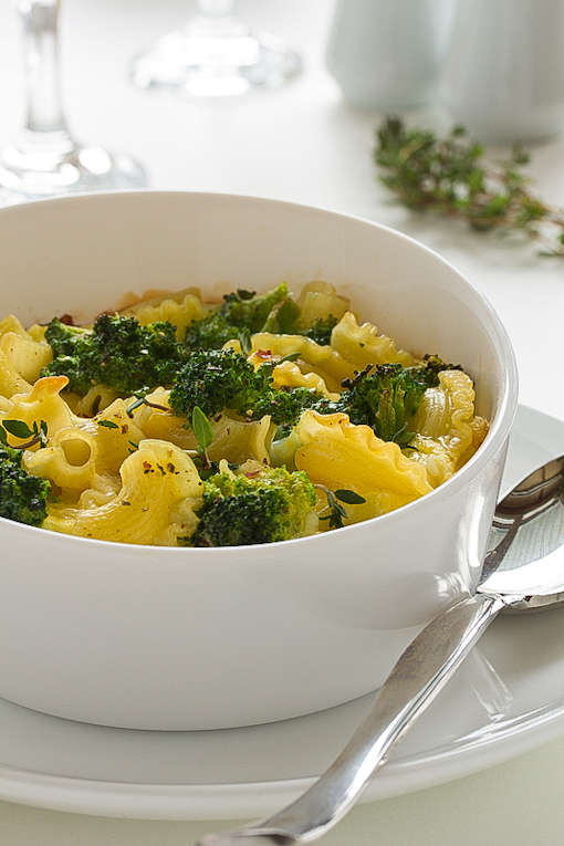 Guilt-Free Pasta Dishes : Healthy Macaroni and Cheese