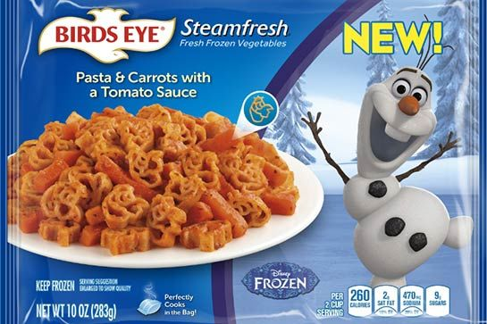 Disney Character-Branded Meals