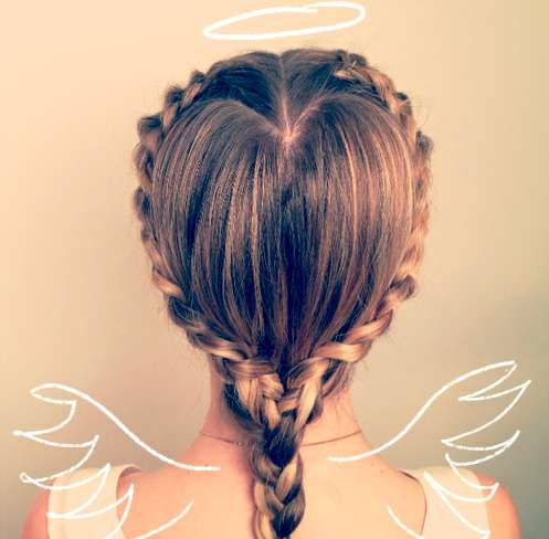 Angelic Crowned Hairstyles