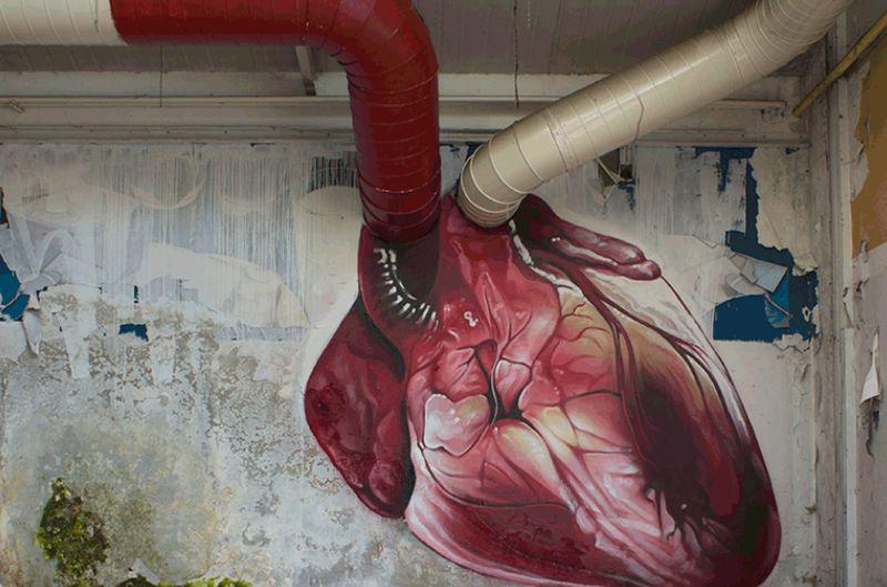 Beating Heart Murals