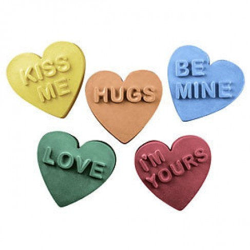 Candy Heart Soaps
