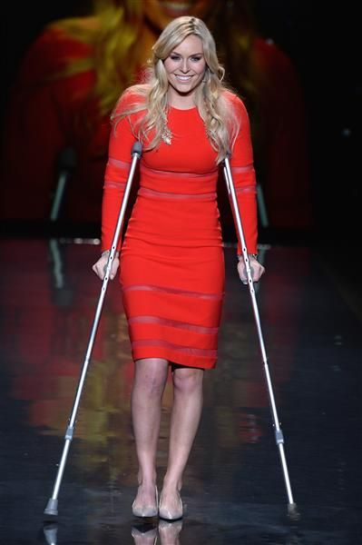 Inspiring Red Runway Shows