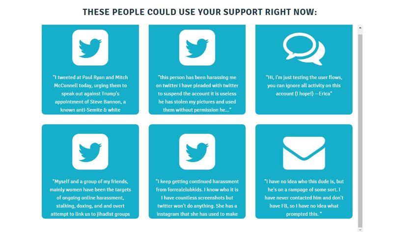 Anti-Trolling Volunteer Networks