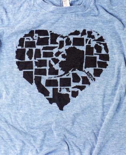 States as Hearts