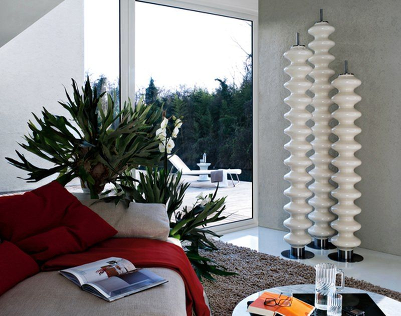 Sculptural Space Heaters