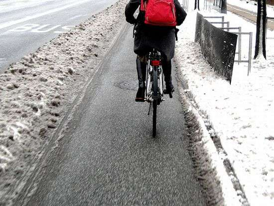 heated bike paths