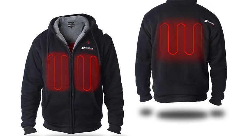 High-Tech Heating Hoodies