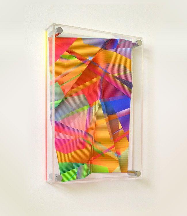 Protruding Geometry Artworks