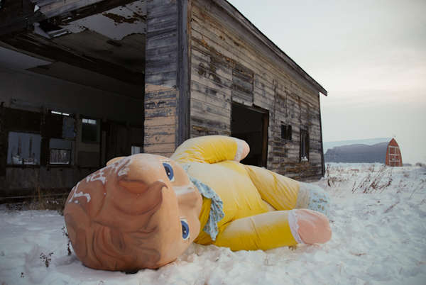 Oversized Outdoor Dolls