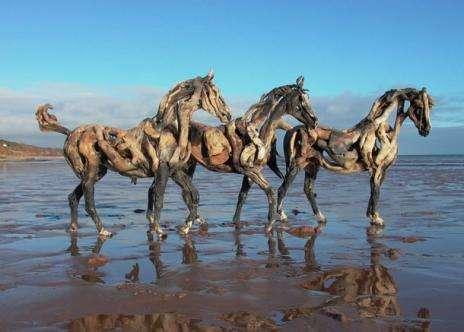 Giant Animal Eco-Sculptures