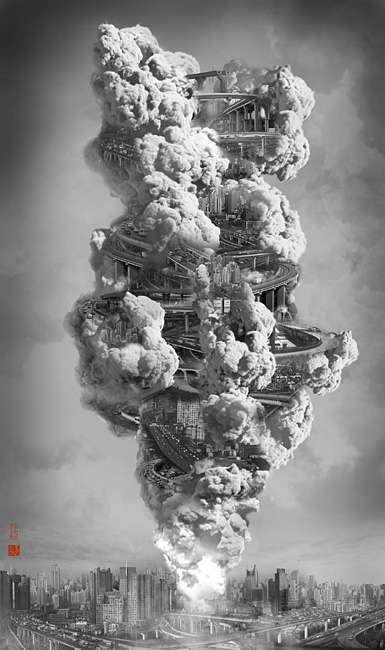 Mushroom Cloud Metropolises