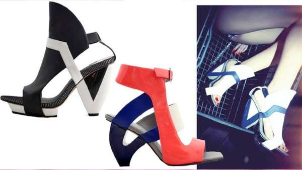 Structured Futuristic Pumps