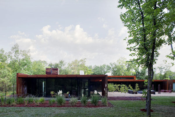 Eclectic Steel Abodes