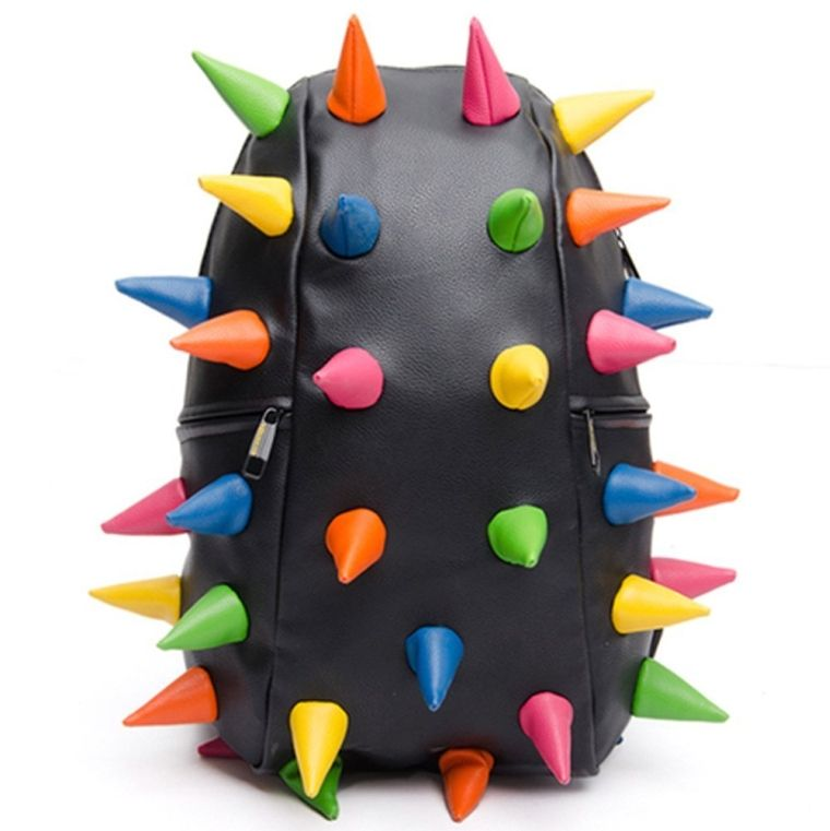 Rainbow Spiked Knapsacks