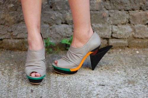 Sculpted Heels