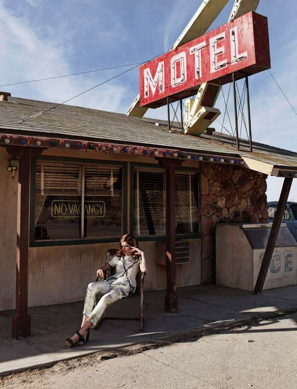 Desert Motel Editorials