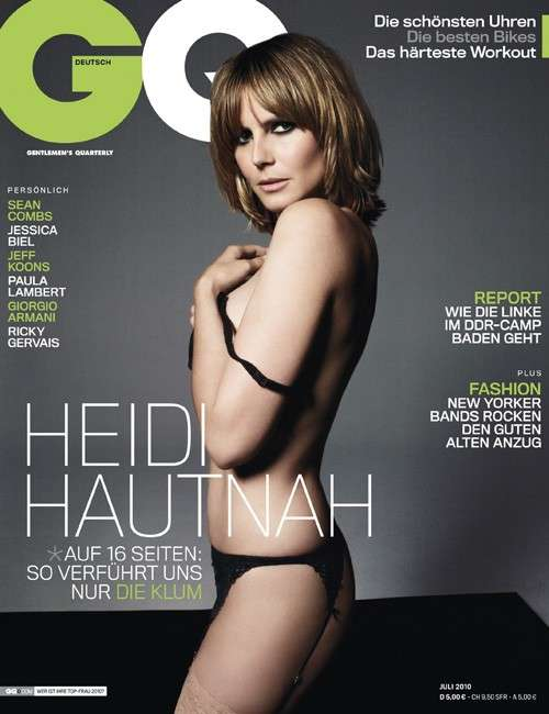 Heidi Klum German GQ