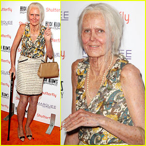 Transformative Elderly Costumes Heidi Klum Halloween Costume