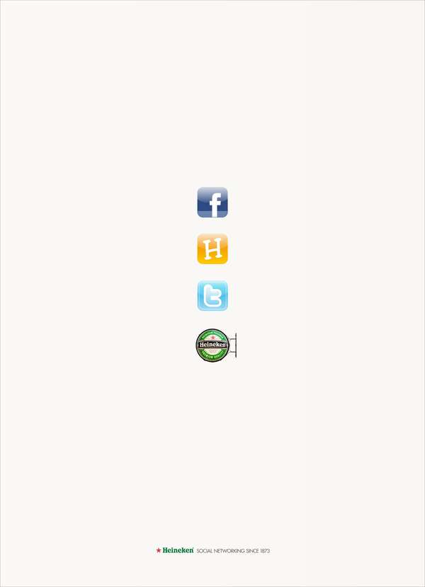 Socially Integrated Beer Ads