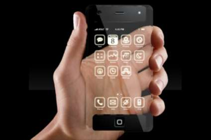 Transparent Apple Smartphones
