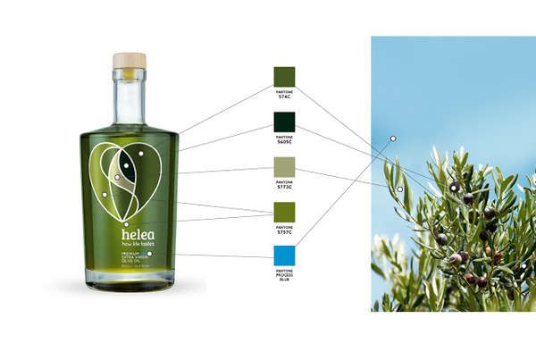 Helea Olive Oil Packaging