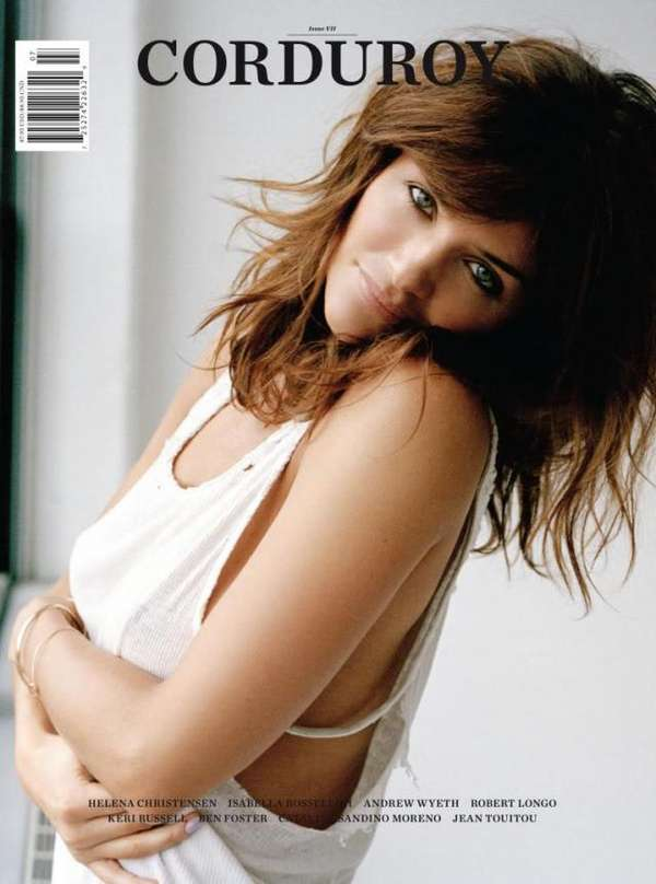 Helena Christensen Corduroy Magazine