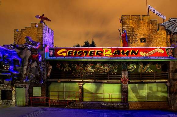 Abandoned Carnival Photography