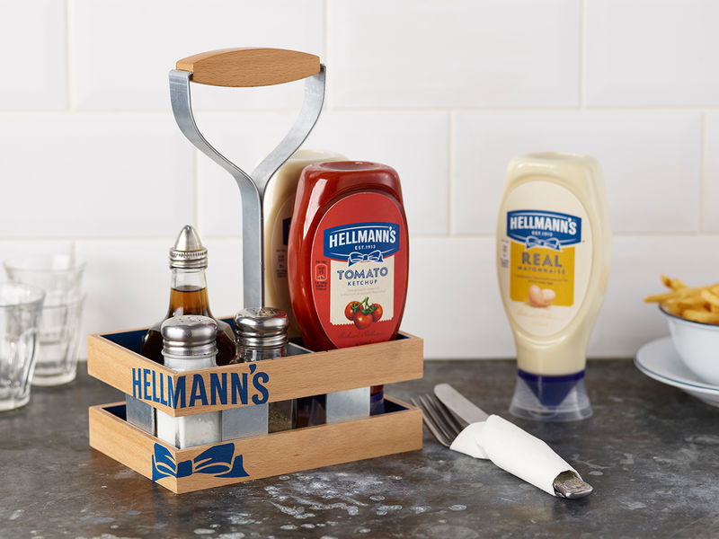 Old-Fashioned Condiment Branding