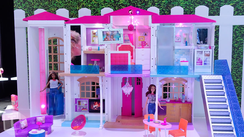 Smart-Connected Dollhouses